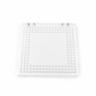 Acrylplatte 200x200x10mm (M4) - Perimeter Pattern