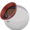 Red Ring Reflector 0.5""