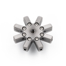 M5-Stylus Star Holder (8x D2 / 1x M5)