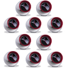 "Red Ring Reflector 0.5"" (RRR) 10-Pack"